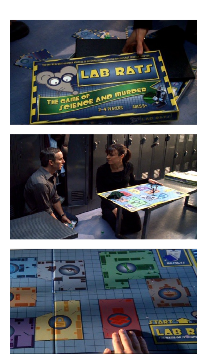 Lab Rats Board Game