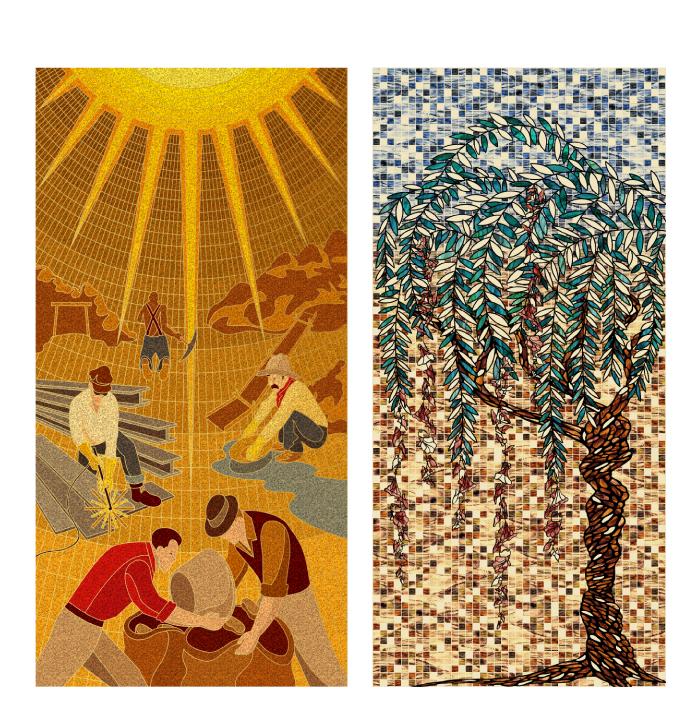 Mosaics / Tiles / Textures